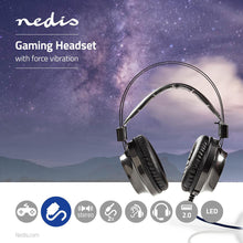 Load image into Gallery viewer, Nedis Gaming Headset Over-ear Ultra Bass LED Light