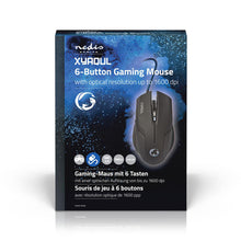 Load image into Gallery viewer, Nedis Gaming Mouse Wired Illuminated 2400 DPI