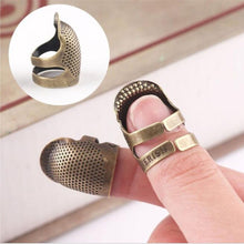 Load image into Gallery viewer, Hand Sewing Thimble Finger Protector