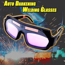 Load image into Gallery viewer, Auto Darkening Welding Glasses