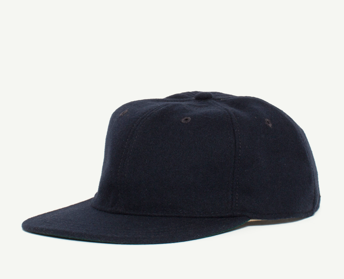 Navy 6 Panel Baseball Cap