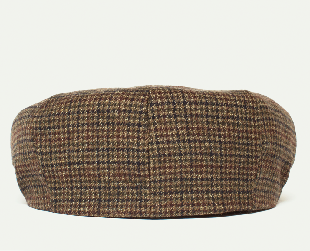 Brown Tweed Gatsby