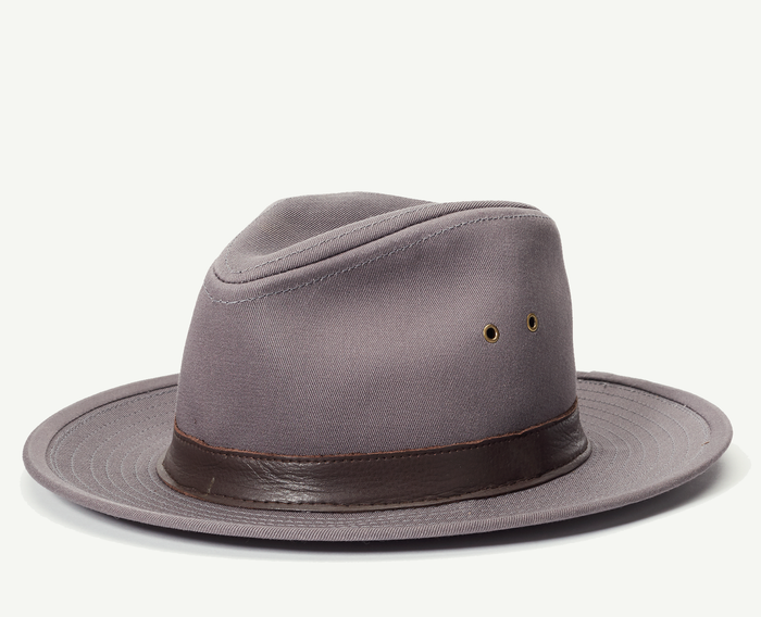Grey Outback Fedora