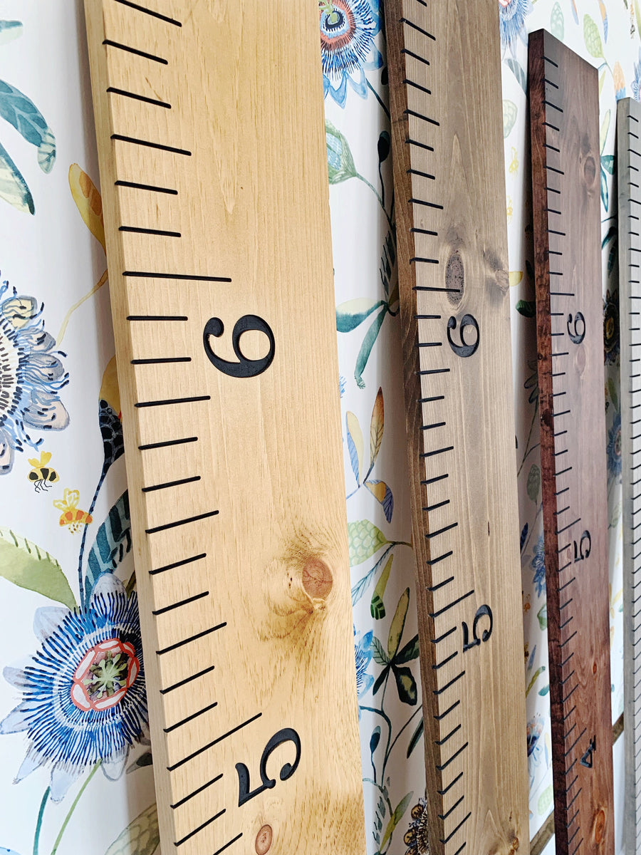 Engraved Growth Chart Half Pint Ink