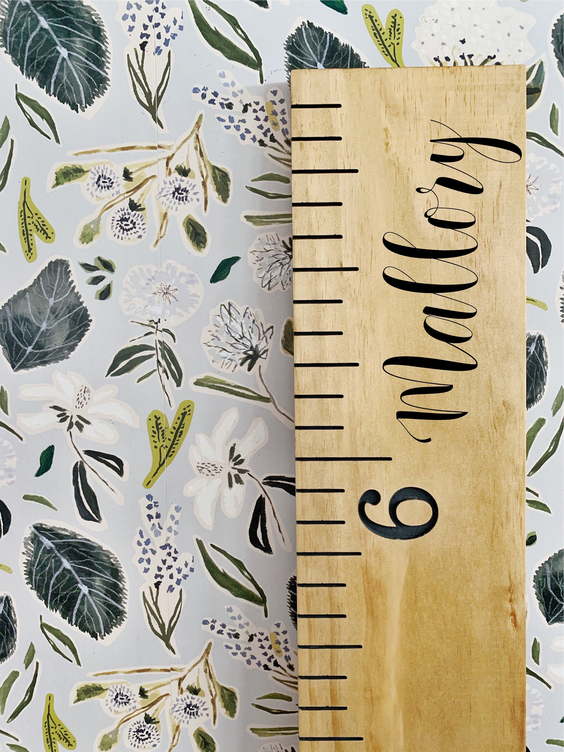 Mallory Edition : Engraved Growth Chart