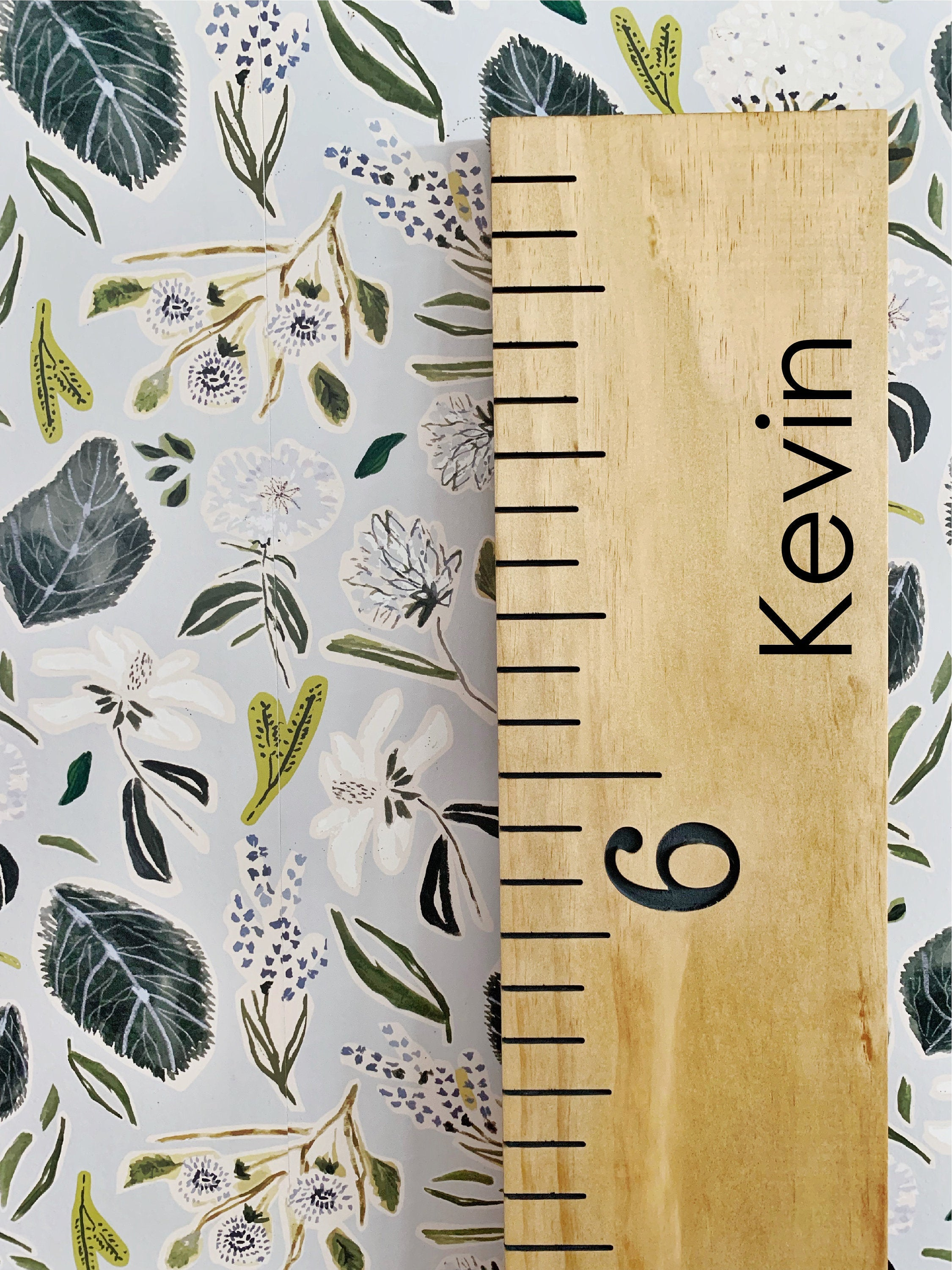 Kevin Edition : Engraved Growth Chart