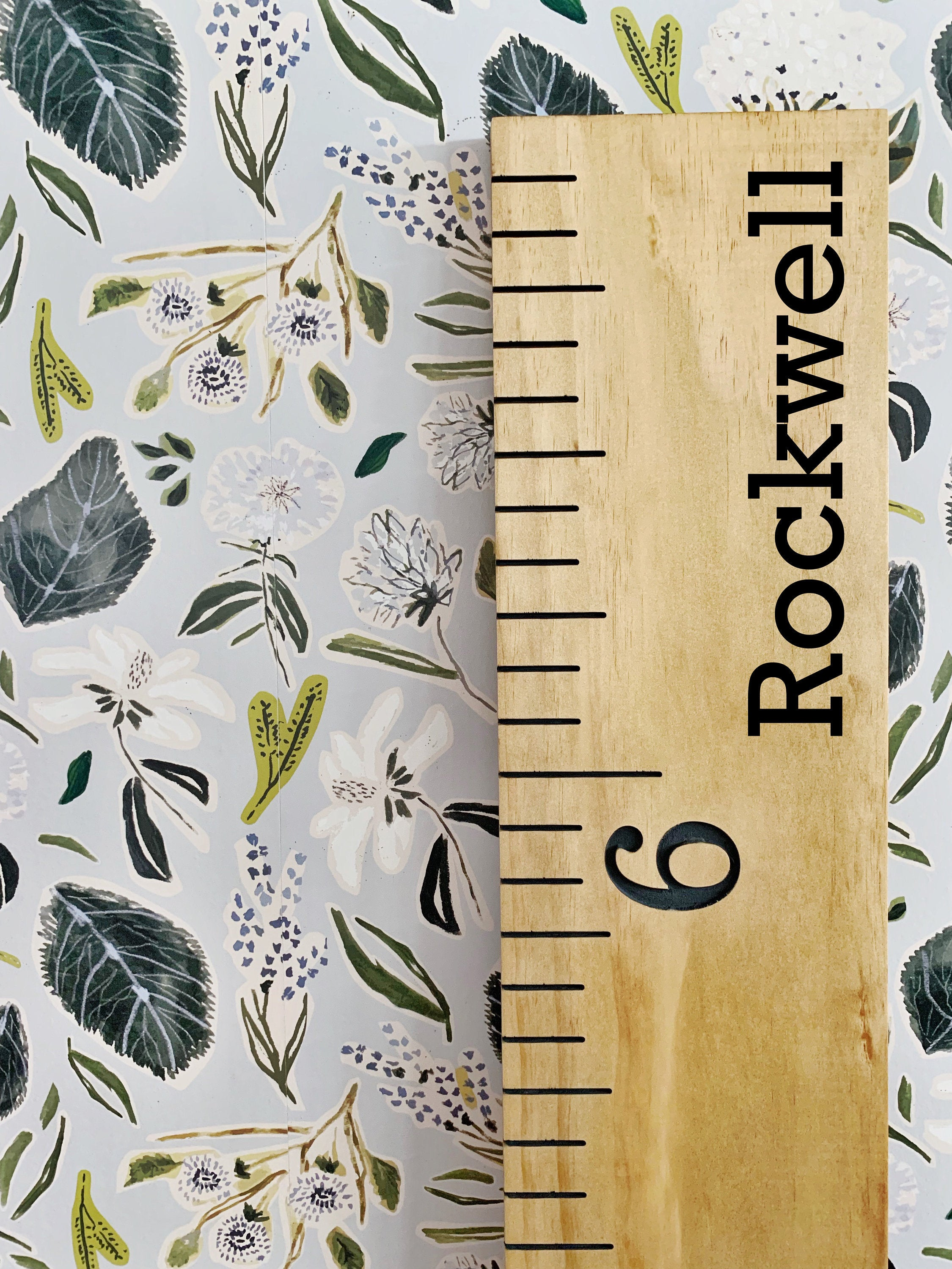 Rockwell Edition : Engraved Growth Chart