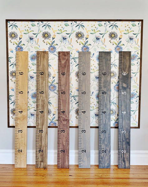 Engraved Growth Chart