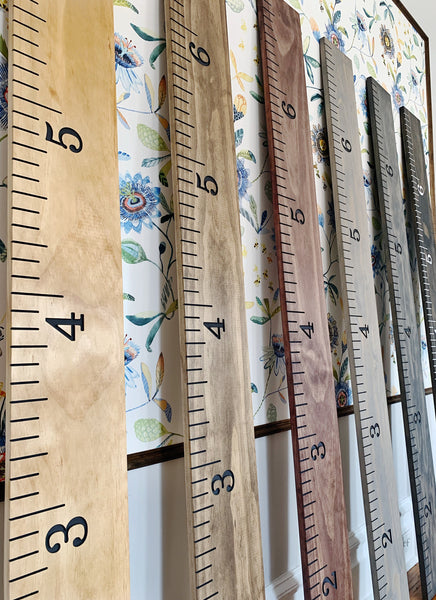Quinn Edition : Engraved Growth Chart