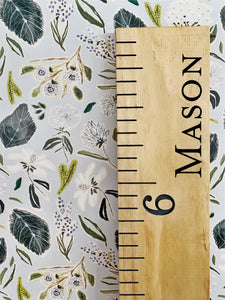 Mason Edition : Engraved Growth Chart