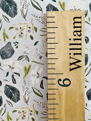 William Edition : Engraved Growth Chart
