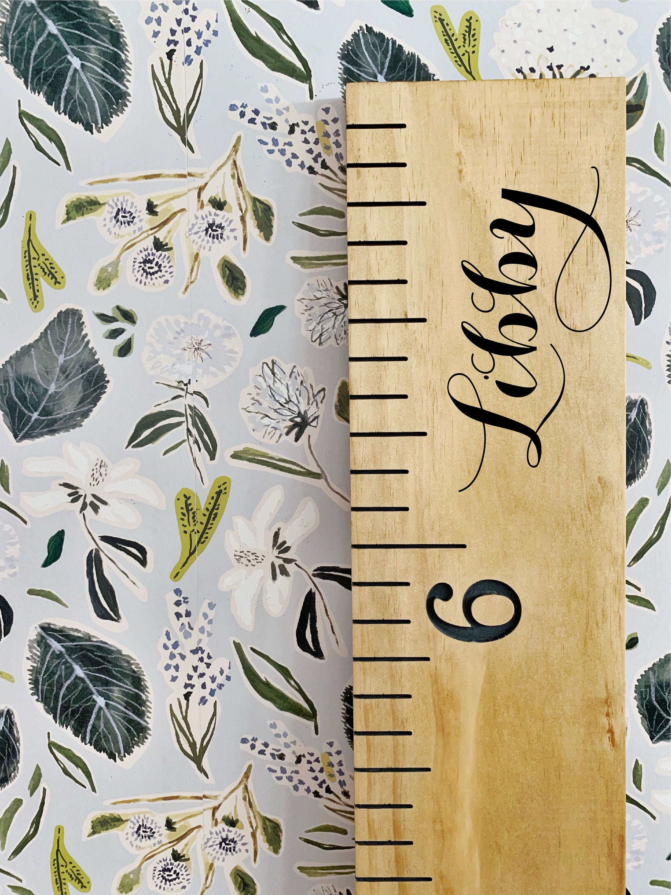 Libby Edition : Engraved Growth Chart