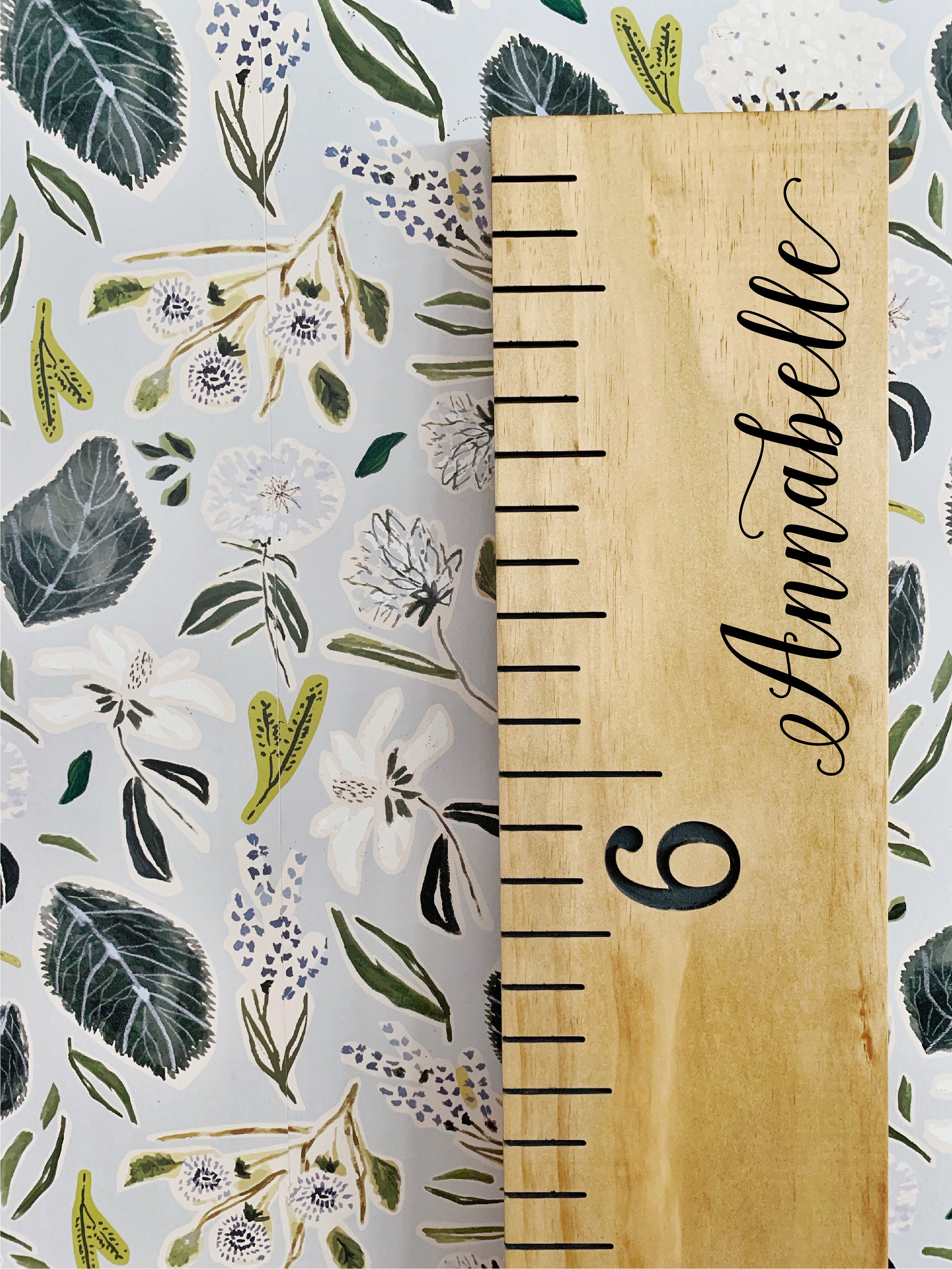 Annabelle Edition : Engraved Growth Chart