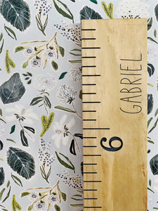 Gabriel Edition : Engraved Growth Chart