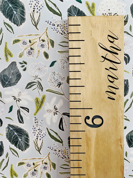Martha Edition : Engraved Growth Chart
