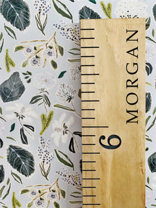 Morgan Edition : Engraved Growth Chart