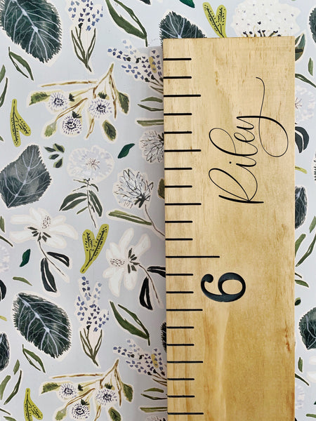 Riley Edition : Engraved Growth Chart