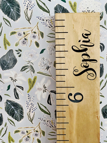 Sophia Edition : Engraved Growth Chart
