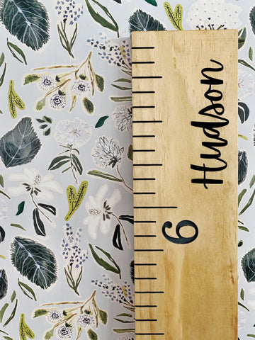 Hudson Edition : Engraved Growth Chart