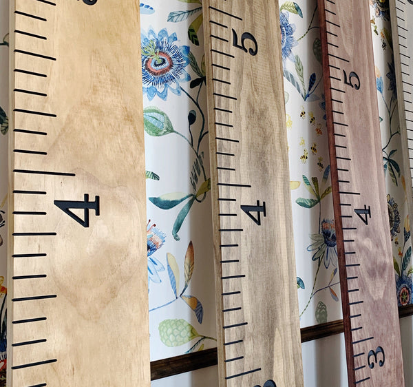 Engraved Growth Chart : Six (6) Inch Measurement