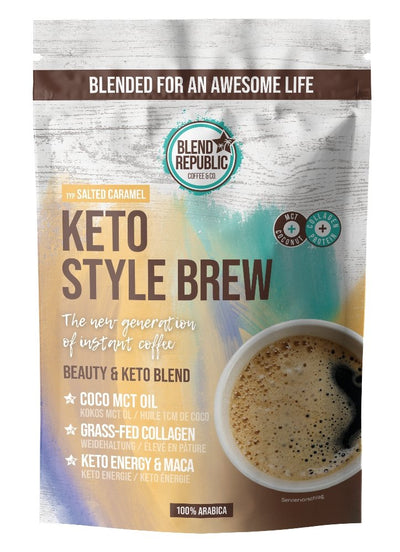 Keto Coffee Caramel - blendrepublic