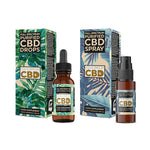 Equilibrium CBD Purified Range 1000mg CBD Oil 10ml - Spray / Dropper Bottle