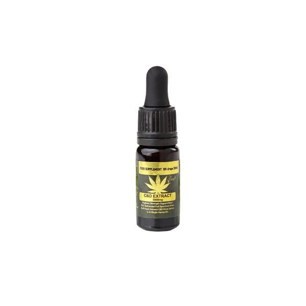 Honey Heaven 5000mg CBD Tincture Oil 10ml