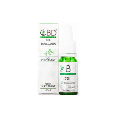 CBD Leafline 1000mg CBD Plant Derived Oil 10ml