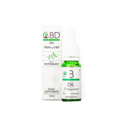 CBD Leafline 1500mg CBD Food Supplement Oil 10ml