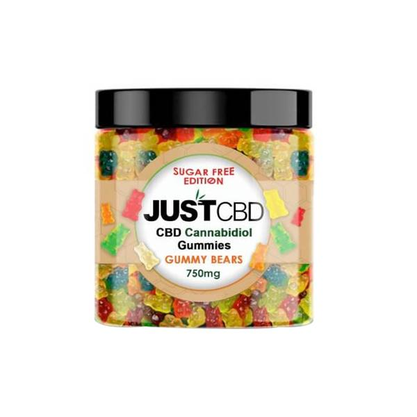 Just CBD Gummy Bears 750mg CBD Sugar Free Edition