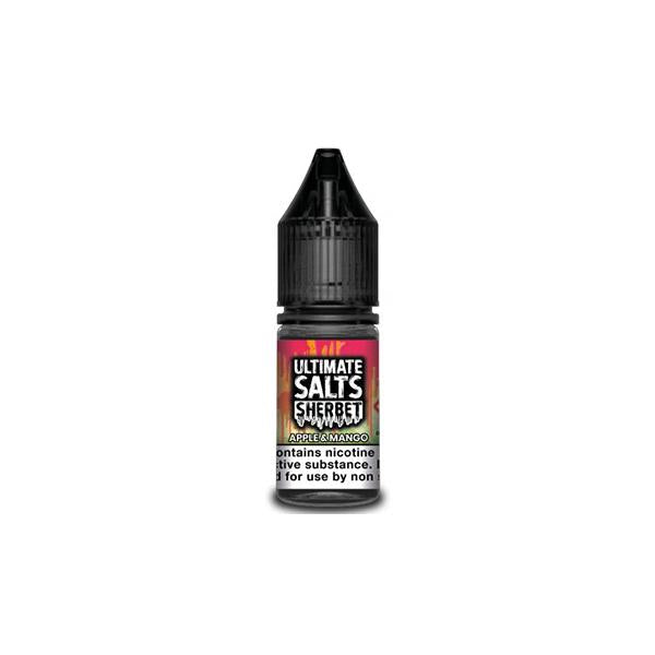 20MG Ultimate Puff Salts Sherbet 10ML Flavoured Nic Salts (50VG/50PG)
