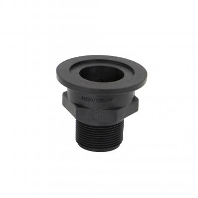 "Manifold Fittings: Flange 2"" X 1-1/4"" Male MPT"