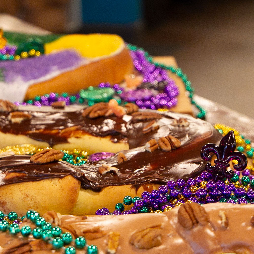 Fudge King Cake