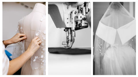 Grace & Gadsby, the women behind The Loop - sourcing and selling luxury preowned, preloved, vintage secondhand wedding dresses, bridal wear for the modern, sustainable-focussed bride. Tailoring, customise, personalise services to alter bridal, wedding dresses
