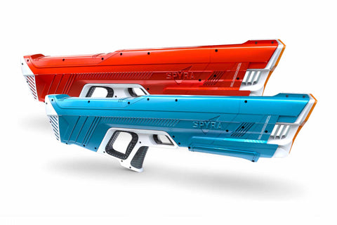 SpyraTwo Duel Set blue and red