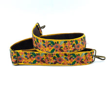 Load image into Gallery viewer, Vintage Trim Strap - yellow floral