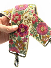 Load image into Gallery viewer, Sari Trim Strap - summer garden