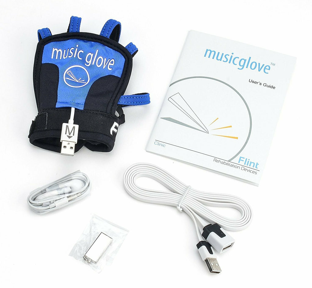 "Music Glove Home Therapy with 10"" Tablet - Flint Rehab"