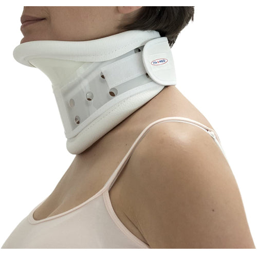 Rigid Plastic Cervical Collar with Chin Support