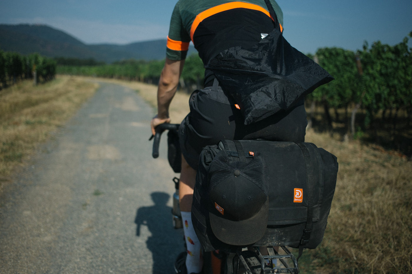 Detour Studio gear for bikepacking gravel packing offroad touring doubletrack