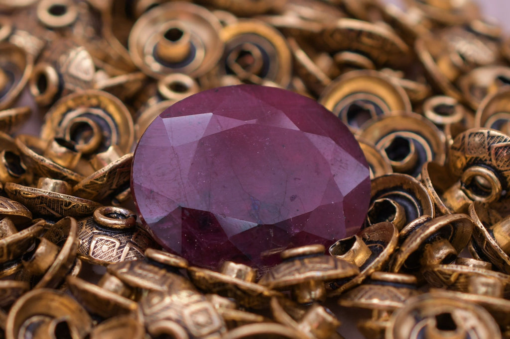 Madagascar Natural Certified Ruby Gemstone