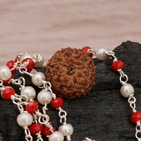 Image of 0.662 gm Nine Mukhi Rudraksha