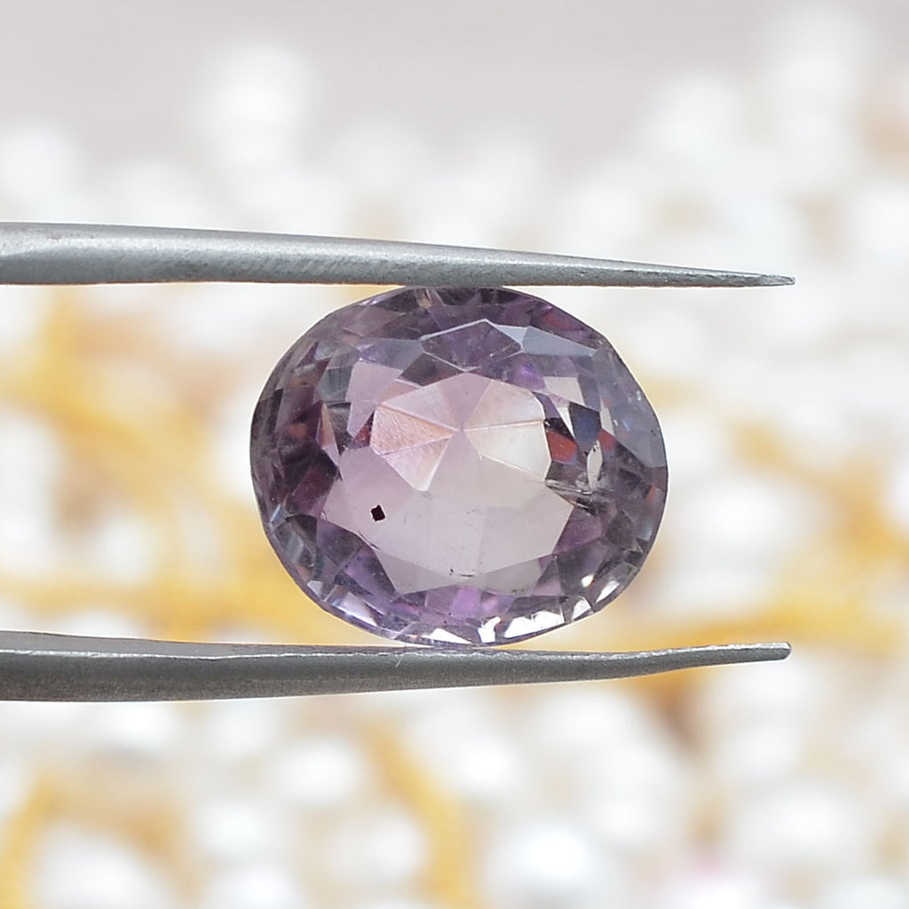 Oval Shaped 7.17 Ct Amethyst