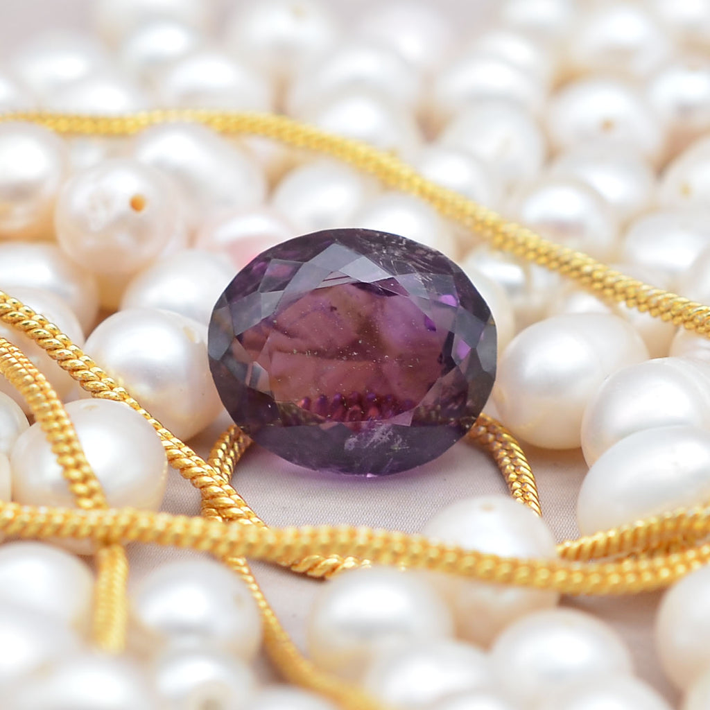 Natural 7.40 Ct Brazilian Amethyst