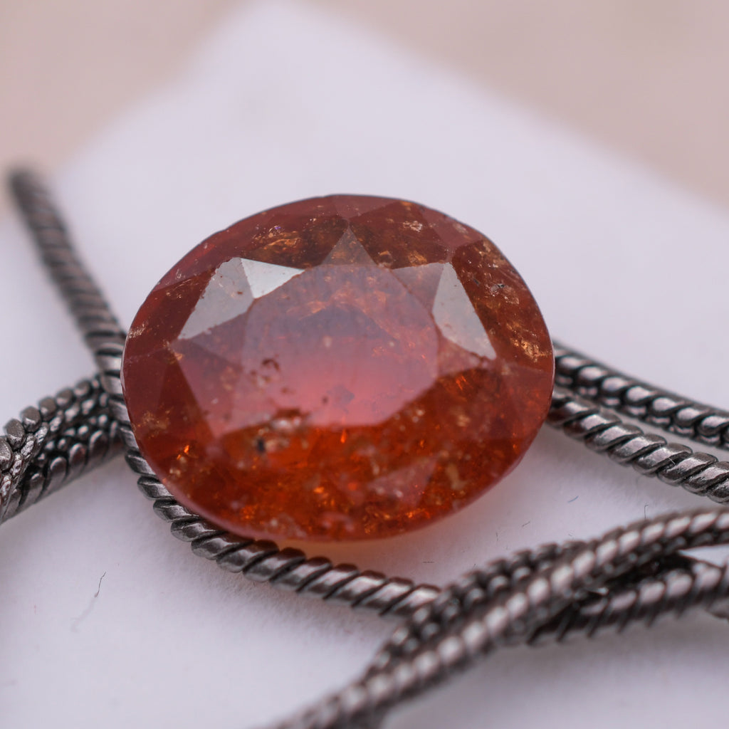 Real Certified Garnet Loose Gemstone