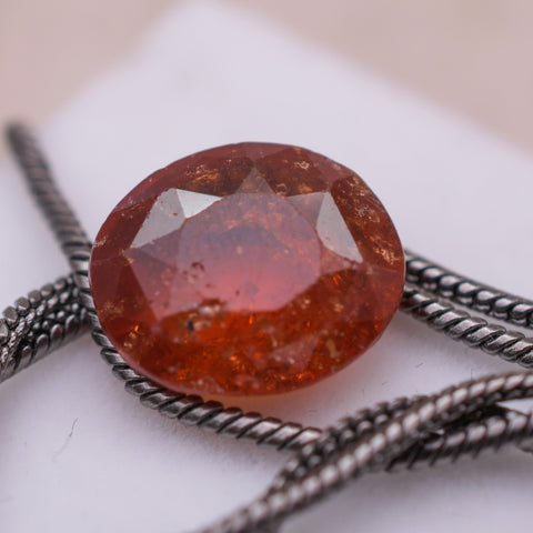 Image of Real Certified Garnet Loose Gemstone
