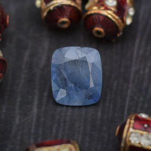 Natural Ceylon Mines Sri Lankan 7.16 Ct Blue Sapphire Gemstone
