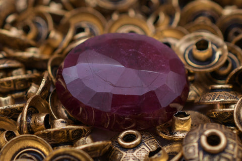 Image of Madagascar Natural Certified Ruby Gemstone