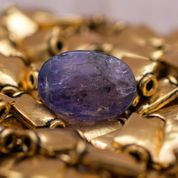 Image of Certified Natural Tanzanite Gemstone
