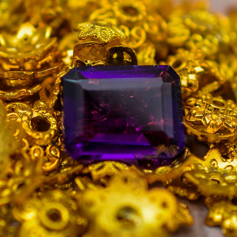 16.40 Ct Amethyst Gemstone